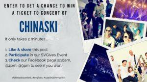 Win tickets to Chinaski